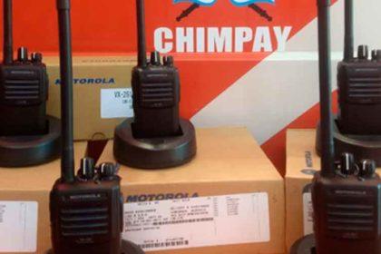 Bomberos de Chimpay con nuevos equipos de comunicaciones